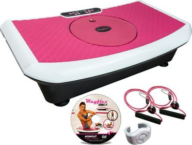 Vibrationsplatte Wayflex Shake It Vibration Plate inkl. Trainingsbänder