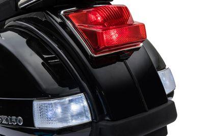 Vespa PX 150 Elektrofahrzeug 12V für Kinder schwarz – Bild 5