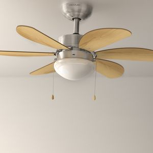 Deckenventilator mit Lampe Forcesilence Aero Switch Premium Wood – Bild 2