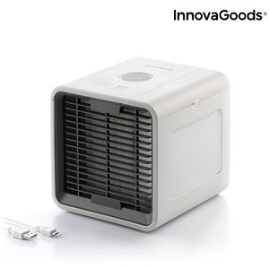 Mini-Klimaanlage Air Cooler Cube DeLuxe Ultra inkl. LED-Stimmungslicht – Bild 1