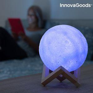Nachtlicht LED Lampe Moon mit wechselnden Farben – Bild 7