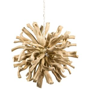 Designer Deckenlampe Luxury Nature Wood – Bild 2