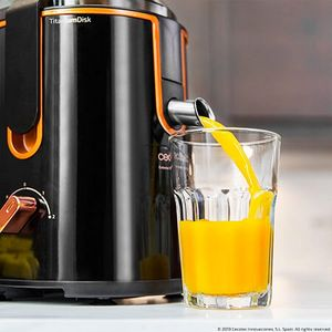 Entsafter Titanium Power Juicer XXL Saftpresse Ultimate Pro Black Design – Bild 3