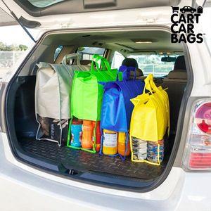 Kofferraumtaschen Einkaufstaschen für Auto und Einkaufswagen – Bild 2