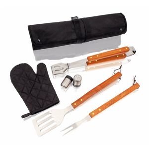Son of Hibachi® RtG (Ready to Grill) Starter-Set zum sofort Losgrillen inkl. Holzkohle, Anzünder und Grillschürze mit Besteck – Bild 8