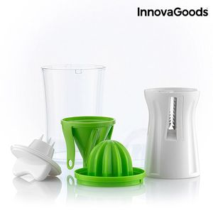 Spiralschneider Ultra 4in1 für Gemüse inkl. Entsafter – Bild 1
