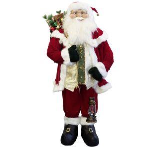 Weihnachtsmann Nikolaus Santa 180cm Weihnachtsdekoration handgefertigt – Bild 2