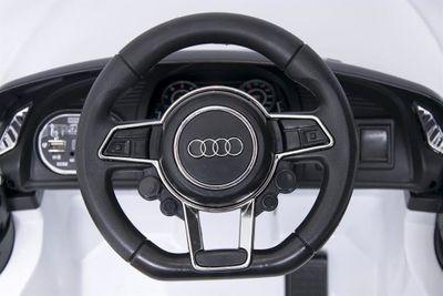 Kinderauto Audi SR8R Spyder 12V weiß Kinderfahrzeug elektrisch – Bild 4