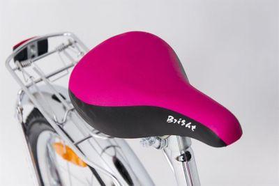 Kinderfahrrad 16 Zoll Pink Lady Speedy inkl. Fahrradkorb u. Stützrädern – Bild 3