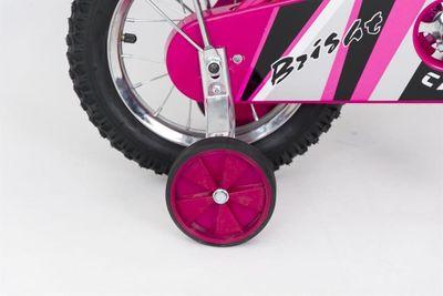 Kinderfahrrad 12 Zoll Pink Lady Speedy inkl. Fahrradkorb u. Stützrädern – Bild 6