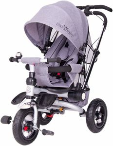 Dreirad ORION Grey 3in1 Kinderwagen Buggy DeLuxe lenkbar – Bild 1