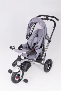 Dreirad ORION Grey 3in1 Kinderwagen Buggy DeLuxe lenkbar – Bild 10
