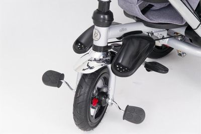 Dreirad ORION Grey 3in1 Kinderwagen Buggy DeLuxe lenkbar – Bild 6