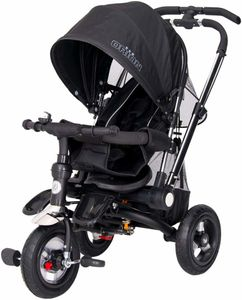 Dreirad ORION Black 3in1 Kinderwagen Buggy DeLuxe lenkbar – Bild 1