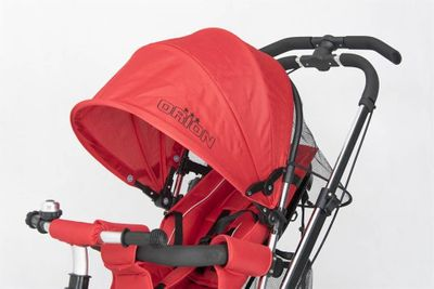 Dreirad ORION Red 3in1 Kinderwagen Buggy DeLuxe lenkbar – Bild 6
