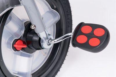Dreirad Magic Bike Buggy DeLuxe Grey mit Licht und Sound lenkbar – Bild 10