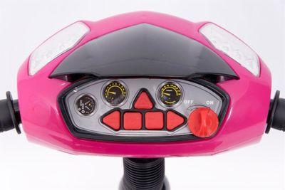 Dreirad Magic Bike Buggy DeLuxe Pink mit Licht und Sound lenkbar – Bild 2