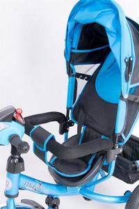 Dreirad Magic Bike Buggy DeLuxe Blue mit Licht und Sound lenkbar – Bild 8