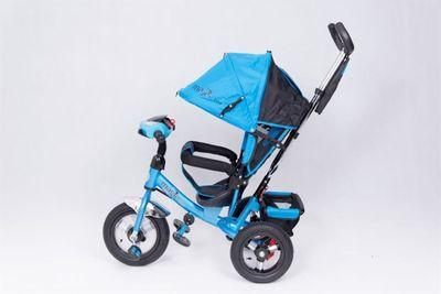 Dreirad Magic Bike Buggy DeLuxe Blue mit Licht und Sound lenkbar – Bild 3