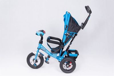 Dreirad Magic Bike Buggy DeLuxe Blue mit Licht und Sound lenkbar – Bild 4