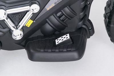Kindermotorrad Super Trike 12V weiß Kinderfahrzeug elektrisch – Bild 5
