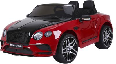 Kinderauto Bentley Supersports Luxury 12V rot Kinderfahrzeug elektrisch – Bild 1