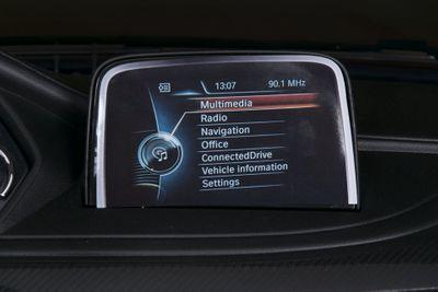 Kinderauto BMW X6M Luxury LED 12V rot Kinderfahrzeug elektrisch – Bild 6