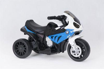 Kindermotorrad BMW S1000RR Trike 6V blue Kinderfahrzeug elektrisch Elektromotorrad – Bild 2