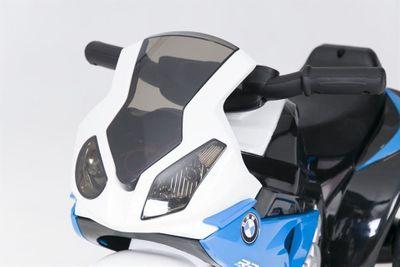 Kindermotorrad BMW S1000RR Trike 6V blue Kinderfahrzeug elektrisch Elektromotorrad – Bild 3