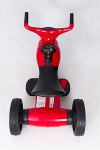 Kindertrike FUTURE Trike 6V red Kinderfahrzeug elektrisch – Bild 4
