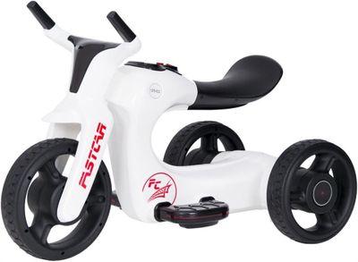 Kindertrike FUTURE Trike 6V white Kinderfahrzeug elektrisch – Bild 1