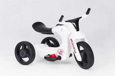 Kindertrike FUTURE Trike 6V white Kinderfahrzeug elektrisch – Bild 2