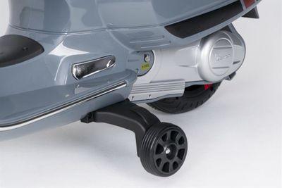 Kinderroller VESPA Classic 12V grey Kinderfahrzeug elektrisch – Bild 9