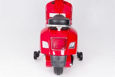 Kinderroller VESPA Classic 12V rot Kinderfahrzeug elektrisch – Bild 8