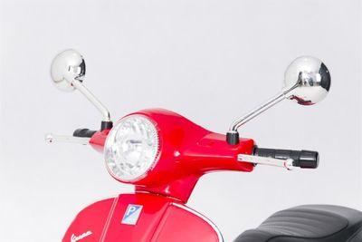 Kinderroller VESPA Classic 12V rot Kinderfahrzeug elektrisch – Bild 4
