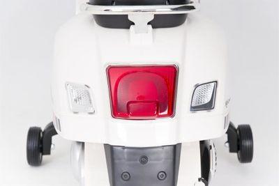 Kinderroller VESPA Classic 12V weiß Kinderfahrzeug elektrisch – Bild 5