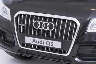 Kinderauto Audi Q5 Quattro Luxury 12V schwarz Kinderfahrzeug elektrisch – Bild 9