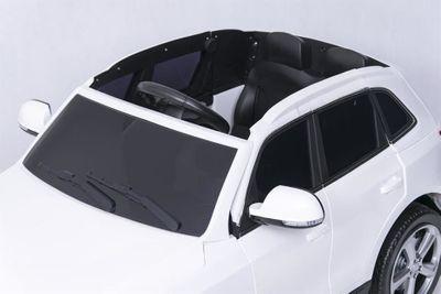 Kinderauto Audi Q5 Quattro Luxury 12V weiß Kinderfahrzeug elektrisch – Bild 2