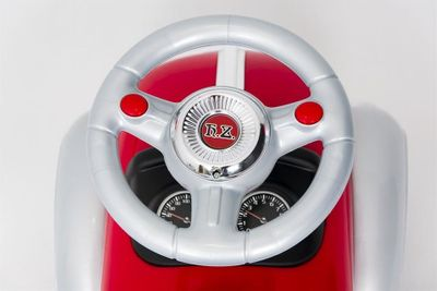 Ride-On Rutscher Classic Retro Car red Kinderrutscher 2in1 – Bild 6