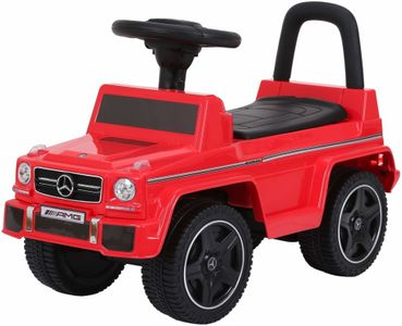 Ride-On Rutscher Mercedes Benz G63 AMG rot Kinderrutscher – Bild 1