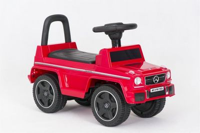 Ride-On Rutscher Mercedes Benz G63 AMG rot Kinderrutscher – Bild 2