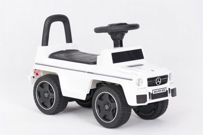 Ride-On Rutscher Mercedes Benz G63 AMG weiß Kinderrutscher – Bild 5