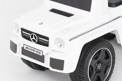 Ride-On Rutscher Mercedes Benz G63 AMG weiß Kinderrutscher – Bild 2