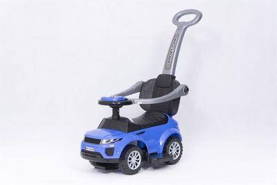 Ride-On Rutscher Sport Car blau Kinderrutscher 2in1 – Bild 6