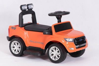 Ride-On Rutscher Ford Ranger Wildtrak orange Kinderrutscher – Bild 1