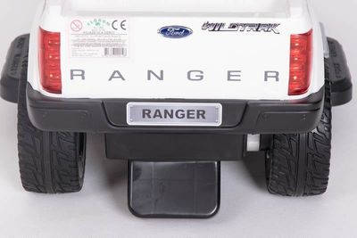 Ride-On Rutscher Ford Ranger Wildtrak weiß Kinderrutscher – Bild 7