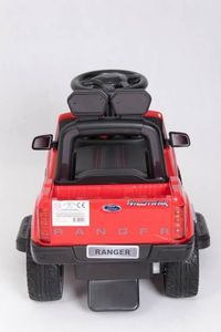 Ride-On Rutscher Ford Ranger Wildtrak rot Kinderrutscher – Bild 8
