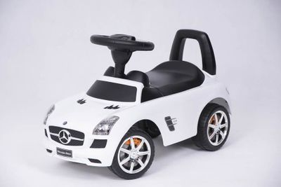 Ride-On Rutscher Mercedes Benz AMG SL Luxury White Kinderrutscher – Bild 1