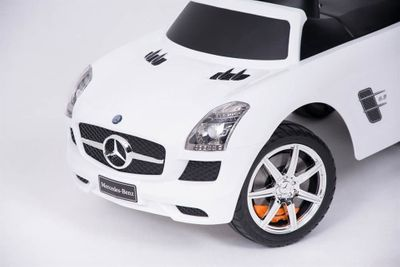 Ride-On Rutscher Mercedes Benz AMG SL Luxury White Kinderrutscher – Bild 9