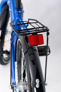 "Kinderfahrrad 18 Zoll ""Tomabike Platinum"" Blue inkl. Fahrradkorb u. Stützrädern – Bild 8"